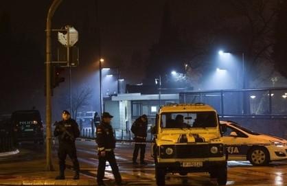 В американское посольство в Черногории бросили гранату