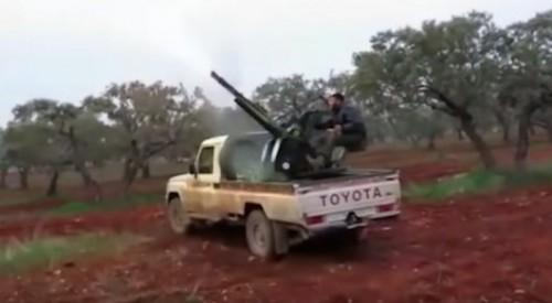 Новое видео обстрела сбитого в Сирии Су-25 появилось в Сети