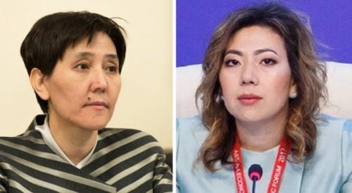 Новый министр Абылкасымова рассказала о встрече с Дуйсеновой