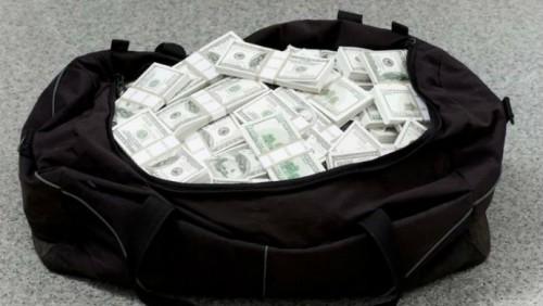 Контрабандист бросил на границе полмиллиона долларов