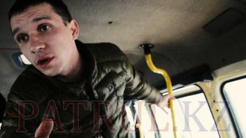ДТП в Алматы: пьяный водитель угрожал пострадавшему ножом. ВИДЕО