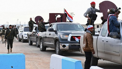 Сирийские национальные силы вошли в Африн