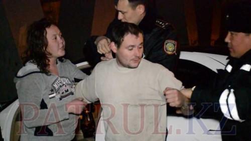Пьяные работники автомойки угнали Mercedes. ВИДЕО