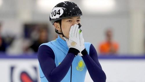 Казахстанский шорт-трекист пробился в полуфинал Олимпиады в беге на 500 метров
