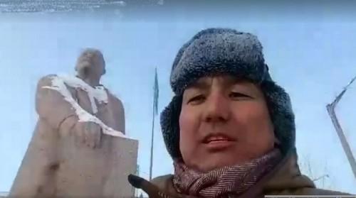 «Политическое убежище» нашли лидеры советской эпохи в казахском городе Аксу (ВИДЕО)