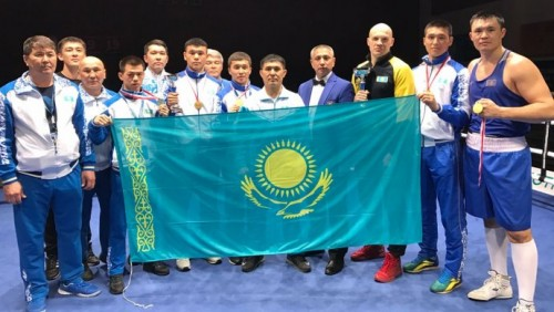 Пять казахстанцев стали чемпионами боксёрского турнира GeeBee