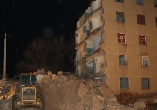 Ещё одно общежитие в Кызылорде может рухнуть в любой момент