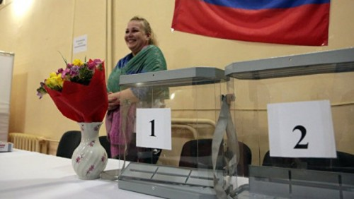 В Казахстане открылись первые участки для выборов президента России