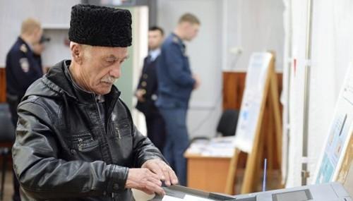 Выборы в Крыму: Путин набирает больше 92%