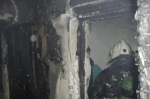 Жильцов эвакуировали из-за пожара в костанайской многоэтажке