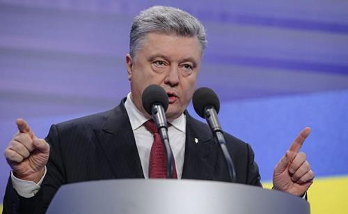 Порошенко назвал «незаконными» выборы президента России в Крыму