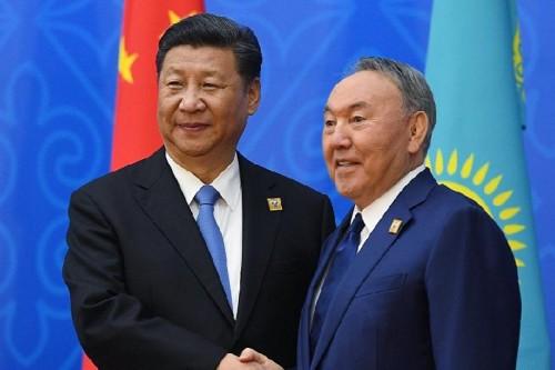 Си Цзиньпин поздравил Нурсултана Назарбаева с Наурызом