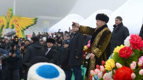 Нурсултан Назарбаев поздравил казахстанцев с Наурыз мейрамы