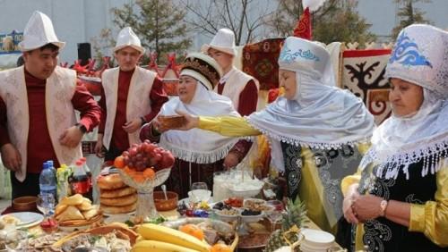 Казахстанцы отмечают Наурыз