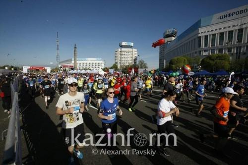 Стартует Алматы марафон