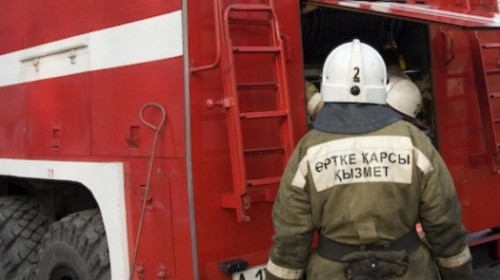 Базовая станция Kcell сгорела в Астане