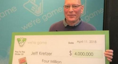 Американец забыл про лотерейный билет с миллионным выигрышем