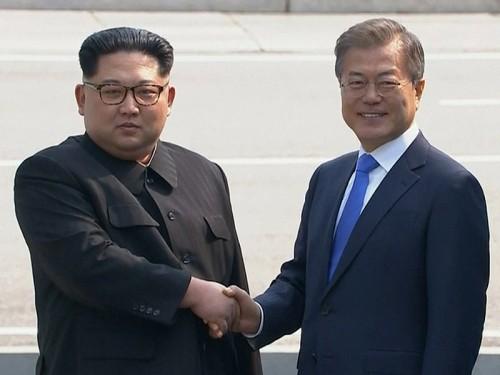 Ким Чен Ын стал первым лидером КНДР, посетившим Республику Корея