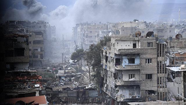Неменее 35 тыс. боевиков ссемьями выведены иззоны деэскалации «Хомс»