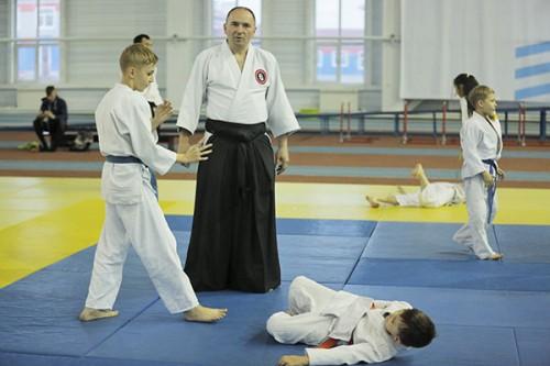 Мастер-класс по айкидо провели профессионалы из Сербии и России в ВКО