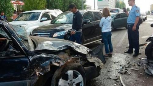 Названы самые опасные участки дорог в Астане