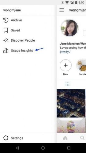 Instagram готовит функцию, с помощью которой пользователи узнают о потраченном на соцсеть времени