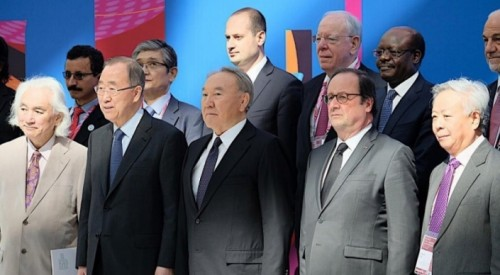 Назарбаев пригласил Олланда, Возняка и Пан Ги Муна на презентацию МФЦА