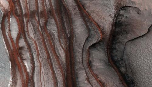 Ученые нашли возможные свидетельства жизни на Марсе
