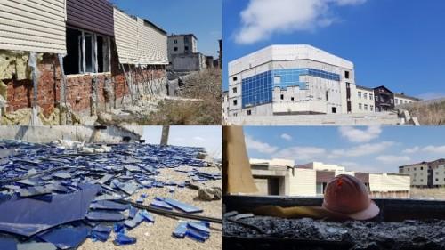 В Усть-Каменогорске разваливается «прорывной проект», который строили к годовщине Независимости за 4 млрд тенге