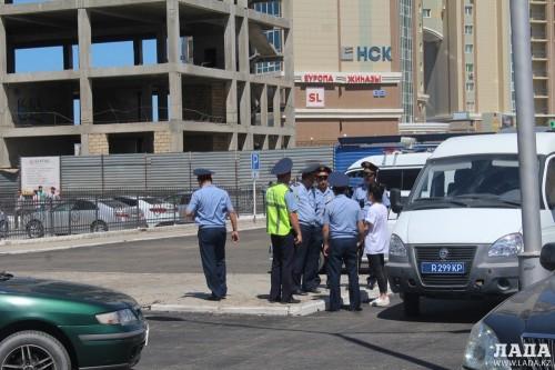 В ДВД Мангистау сообщили подробности разбойного нападения на филиал АО «Цеснабанк»