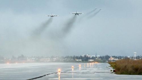 Система ПВО авиабазы Хмеймим сбила неизвестный беспилотник