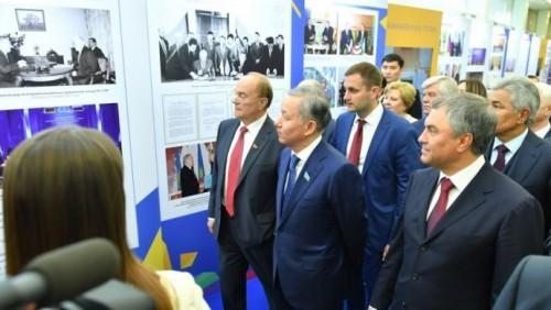 Нигматулин и Володин открыли выставку «Казахстан и Россия – дружба на века!»