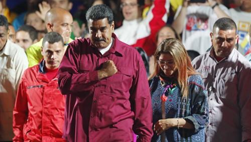 """США пообещали """"восстановить демократию"""" в Венесуэле"""
