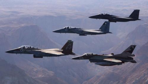 Израиль нанес авиаудар по позициям «морской полиции» ХАМАС в секторе Газа
