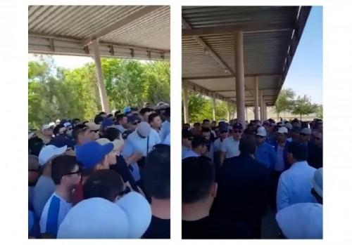 Нефтяники Мангистау вышли на забастовку