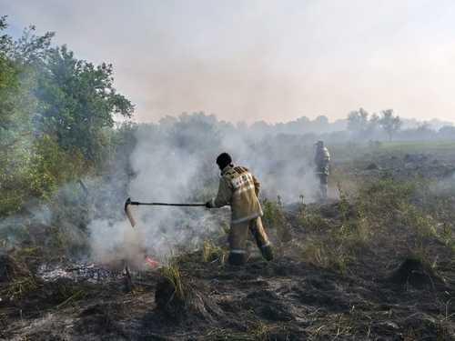 Жителей Усть-Каменогорска переполошил густой смог, накрывший город