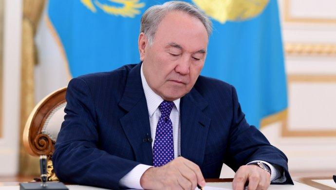 Президент присвоил Шымкенту статус города республиканского значения