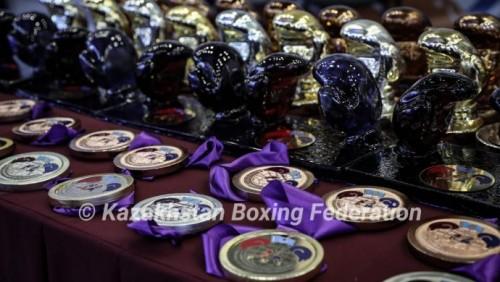 10 золотых медалей завоевал Казахстан на Кубке Президента РК по боксу