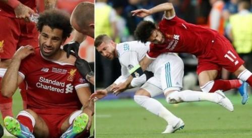 Салах ответил Рамосу по поводу травмы в финале Лиги чемпионов