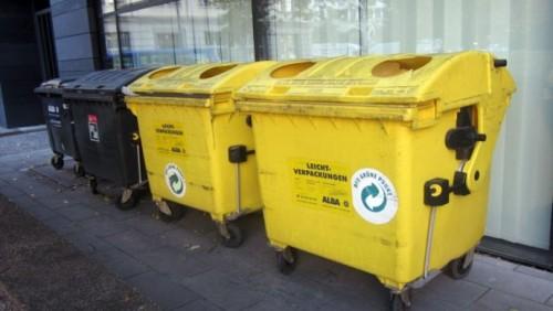 Астанчане будут выбрасывать пластик и бумагу в желтые контейнеры