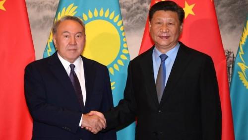 Назарбаев - Си Цзиньпин сказал множество приятных слов в адрес Казахстана (ВИДЕО)