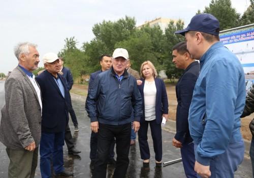 Бердыбек Сапарбаев: Все здания должны соответствовать архитектурному облику нашего города