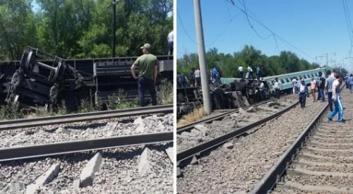 """Ветеран-железнодорожник: """"Товарный поезд не мог быть причиной опрокидывания вагонов"""""""