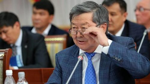 Задержан бывший премьер-министр Кыргызстана