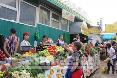 Продавцам «Центрального рынка» в Актобе оставили торговые места