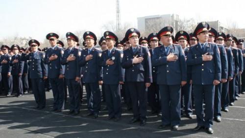 В Казахсане отмечают Дни полиции и госслужащего