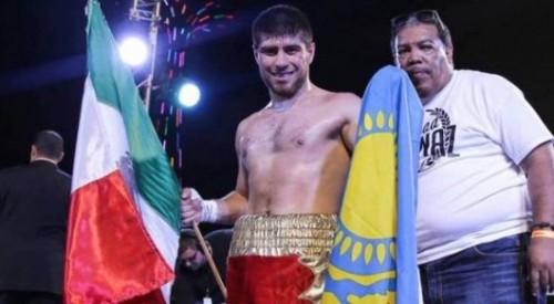 Казахстанский нокаутер одержал очередную досрочную победу в США