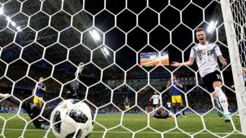 Германия с трудом одолела Швецию в матче ЧМ-2018