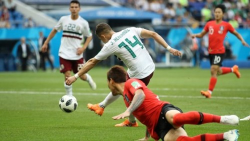ЧМ-2018: Сборная Мексики обыграла Южную Корею