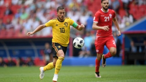 Сборная Бельгии крупно обыграла Тунис в матче ЧМ-2018